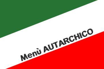 venerdì 27 gennaio, menu autarchico