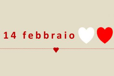 martedì 14 febbraio, San Valentino