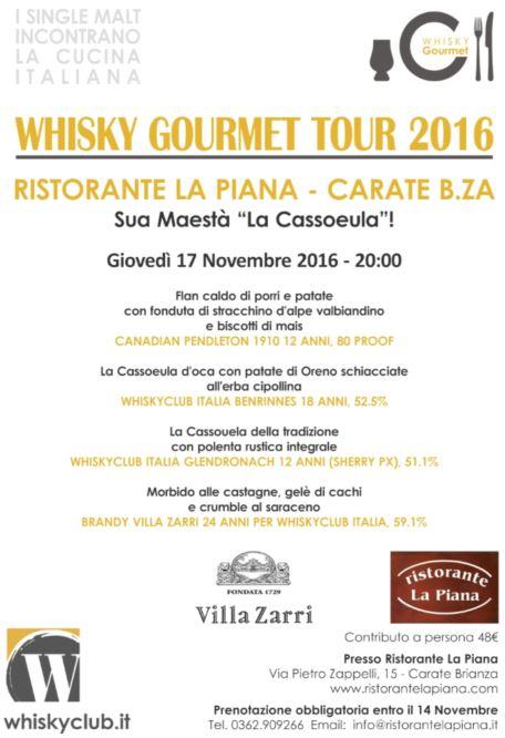 Whisky Club Gourmet Cassoeula