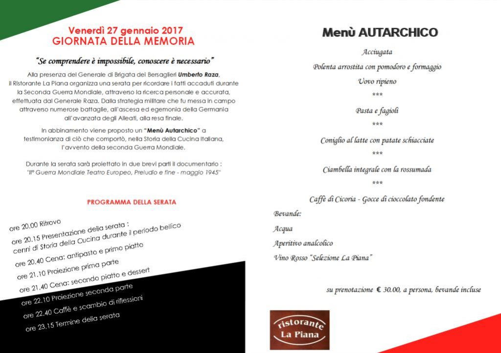 menu autarchico