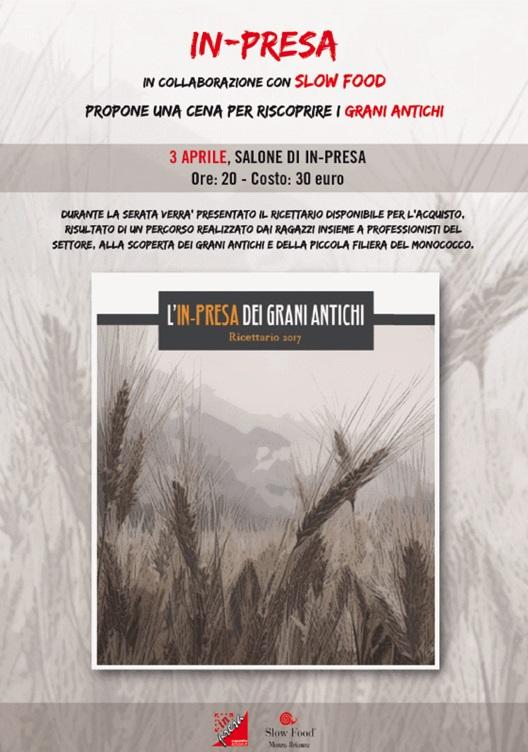 In-presa dei grani antichi 3 aprile