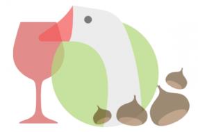 dal 10 novembre, Oca castagne e vino