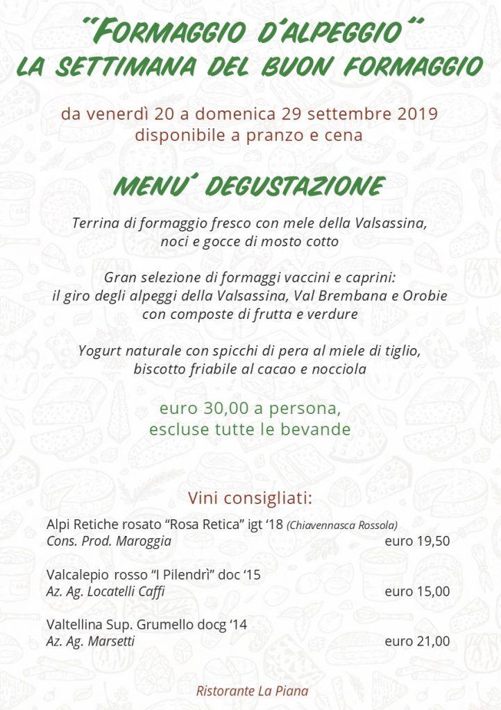 locandina sito evento 20 29 settembre buon formaggio 2019