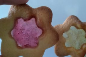 Laboratorio di cucina per bambini, Biscotti di vetro