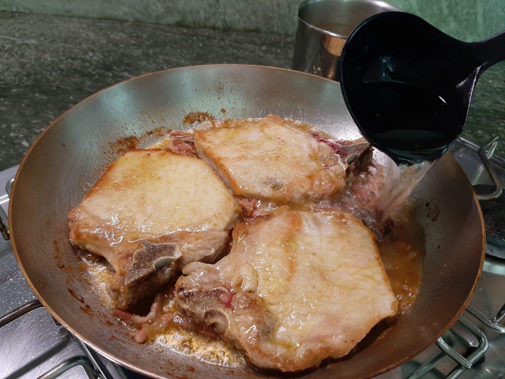 costoletta di maiale